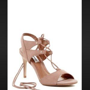 Steve Madden Selmah Lace Up Sandal High Heels 8.5